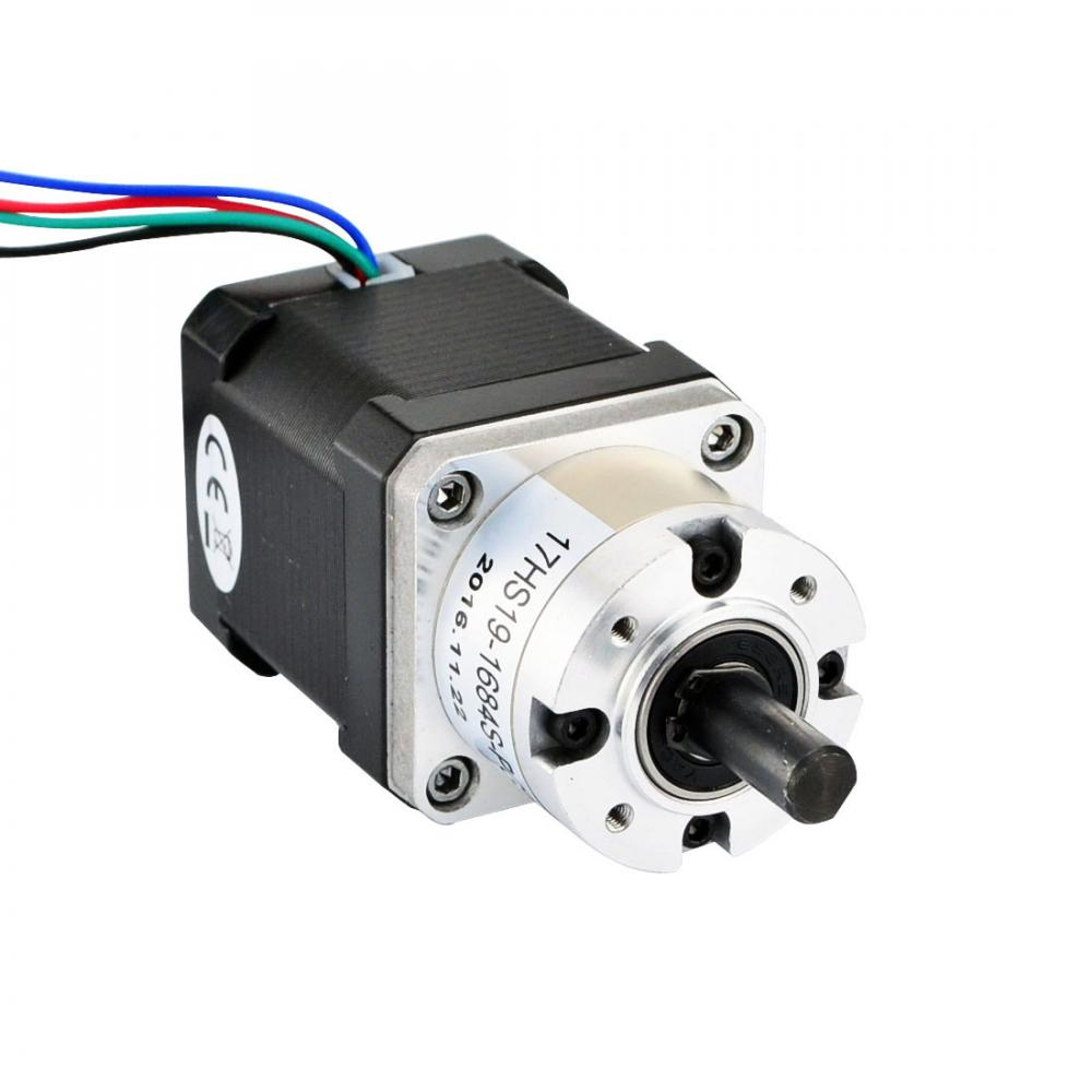 Nema 17 Stepper Motor Bipolar L 48mm W Gear Ratio 5 1