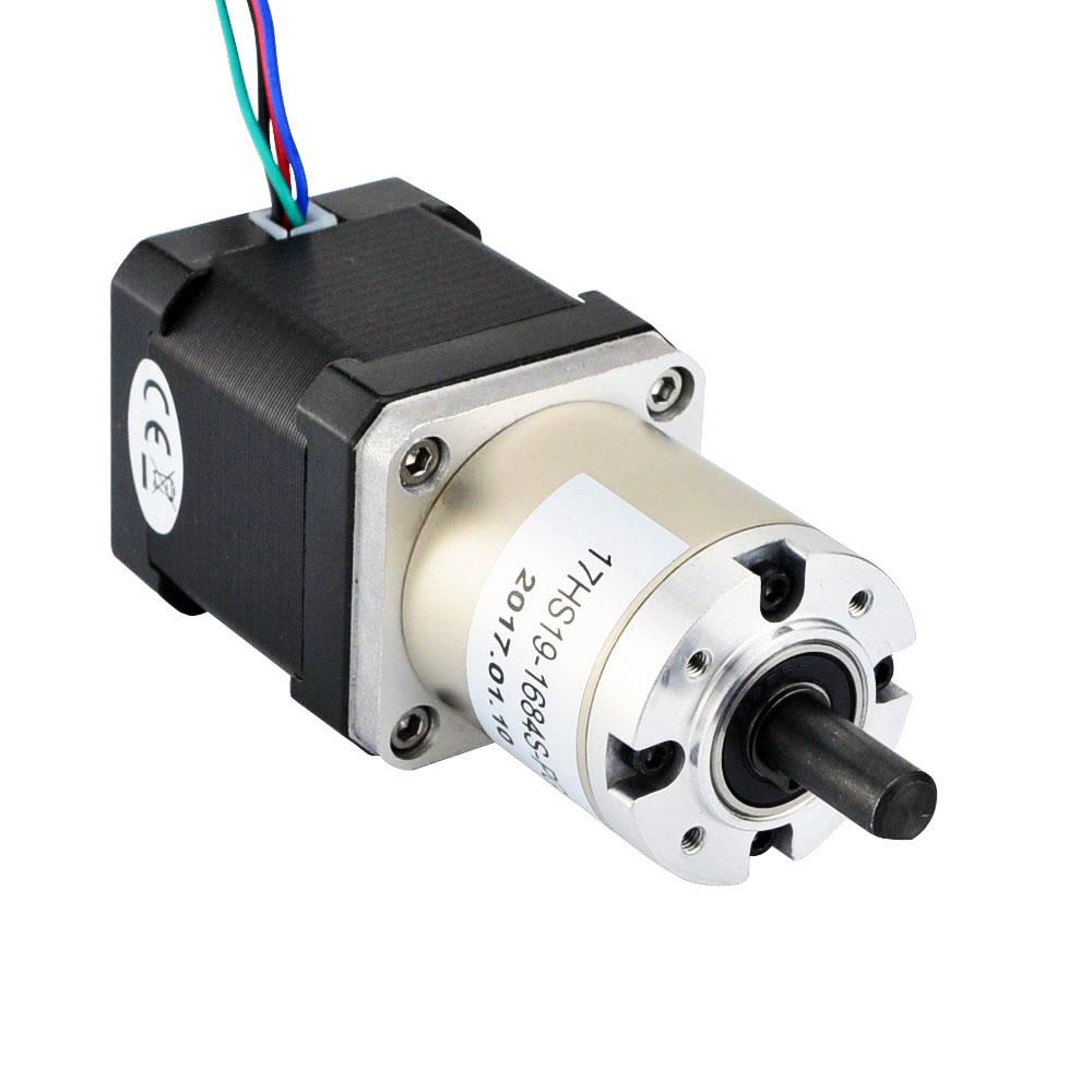 Nema 17 Stepper Motor Bipolar L 48mm W Gear Ratio 51 1