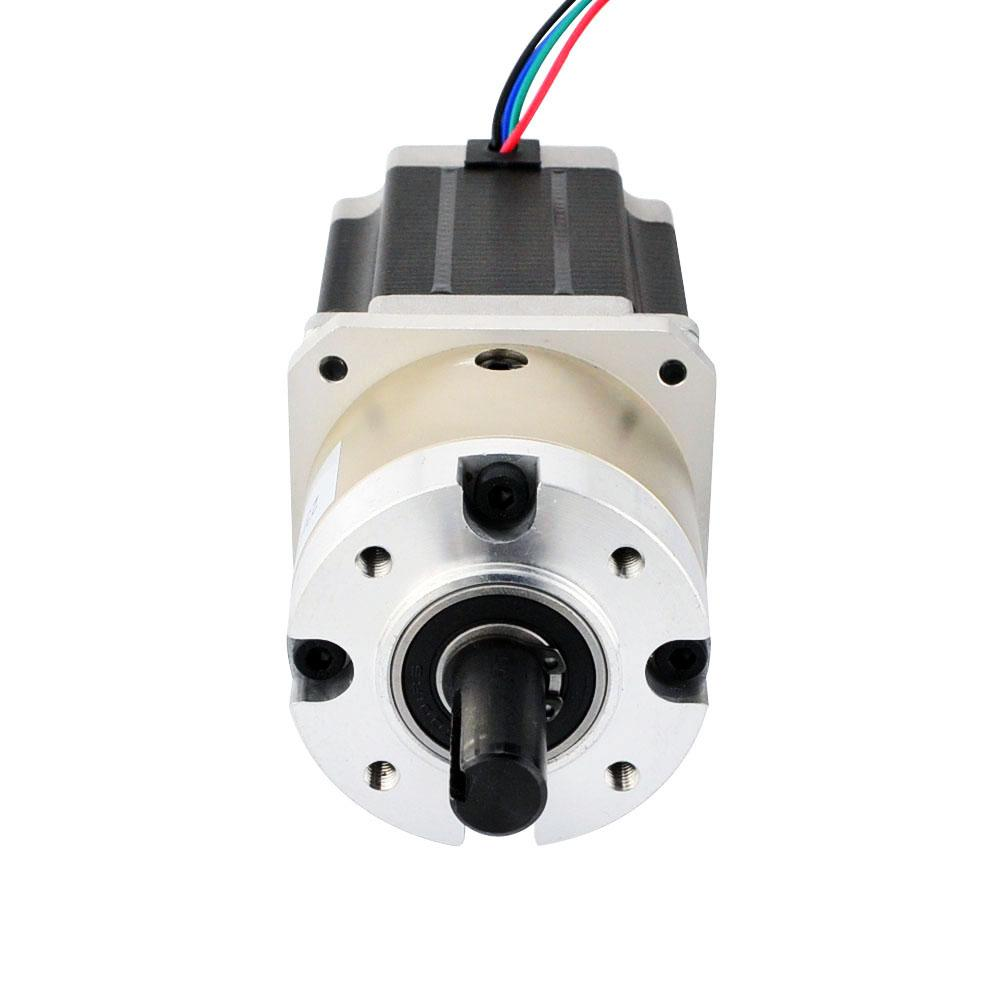 Nema 23 Stepper Motor Bipolar L 76mm W Gear Ratio 4 1