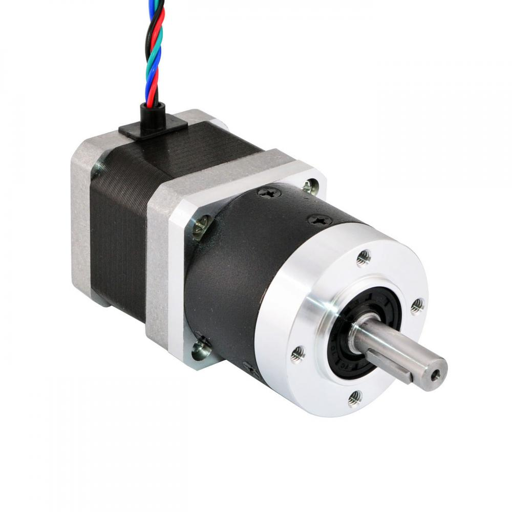 Nema 17 stepper motor l 39mm gear ratio 5 1 high precision for Nema 17 stepper motors with rotary encoders