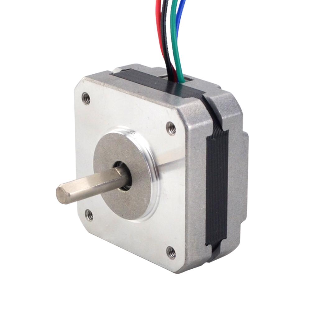 Vaorwne 17Hs08-1004S 4-Lead Nema 17 Schritt Motor 20 Mm 1A 13 Ncm 18,4 Unzen In 42 Motor Nema17 Schritt f/ür Diy 3D Drucker Cnc Xyz