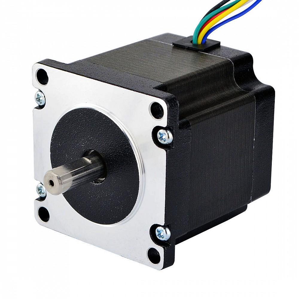 Hybrid dual shaft nema 23 unipolar 90ncm for Types of stepper motor