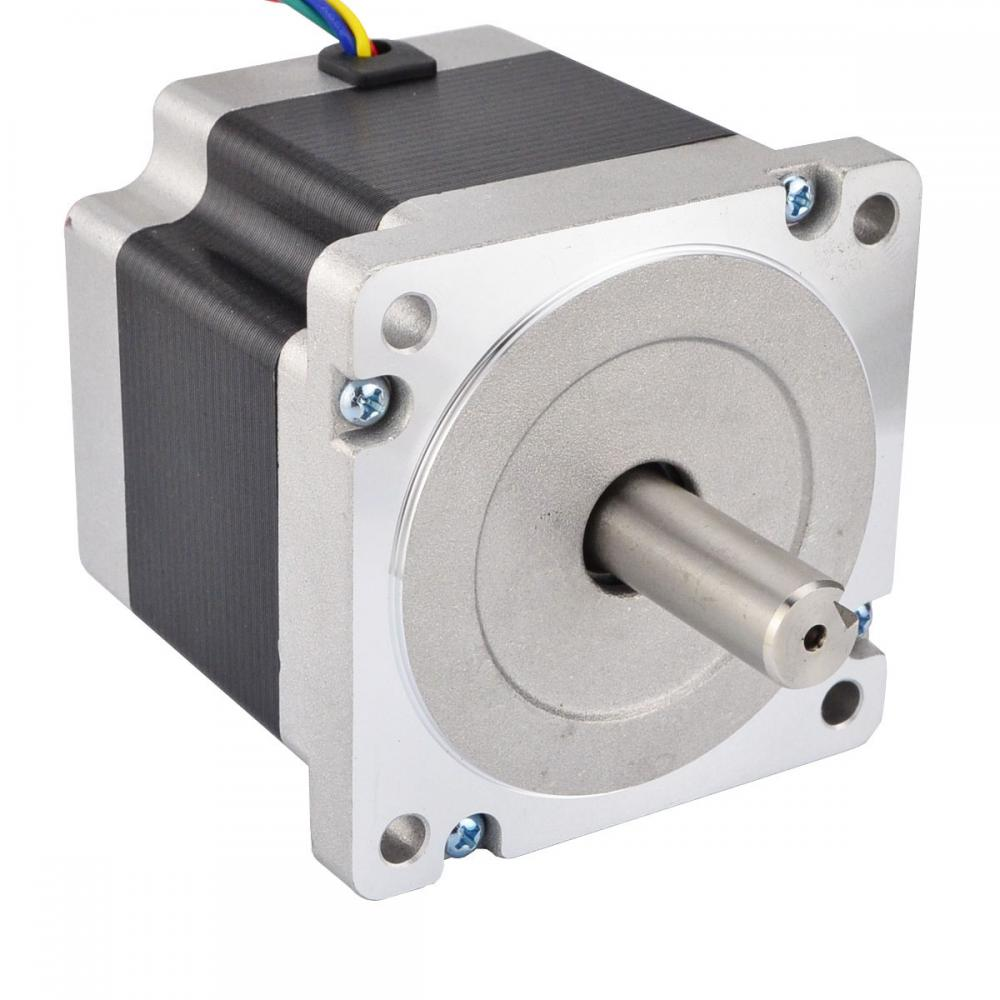 Hybrid nema 34 cnc stepper motor 4 5nm 5 5a for Nema 17 stepper motors with rotary encoders